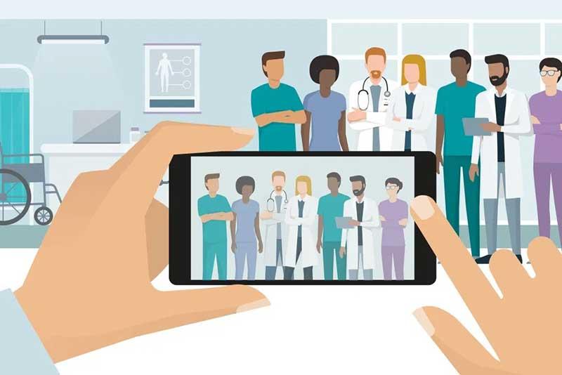 تبلیغات پزشکی در شبکه های اجتماعی